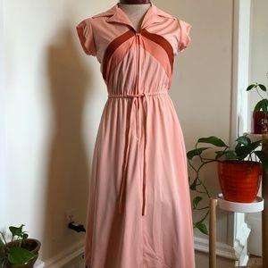 Sporty Half-Zip Vintage Dress